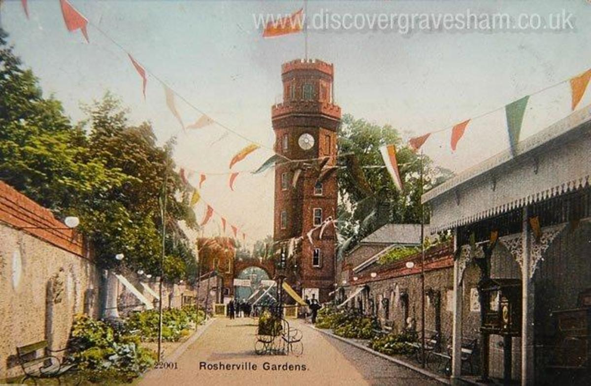 Rosherville Gardens Clock Tower