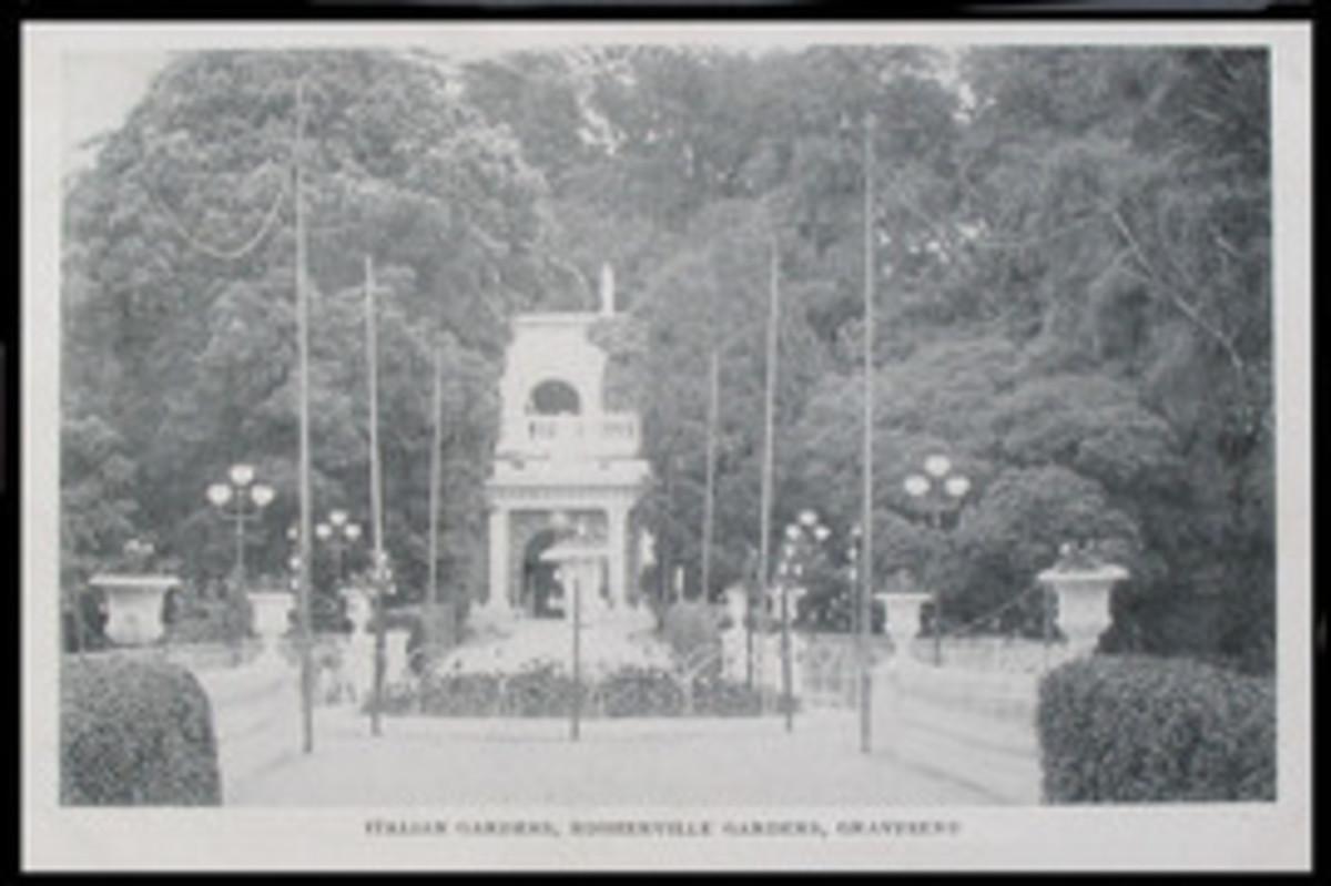 Rosherville Gardens - the Italian Garden