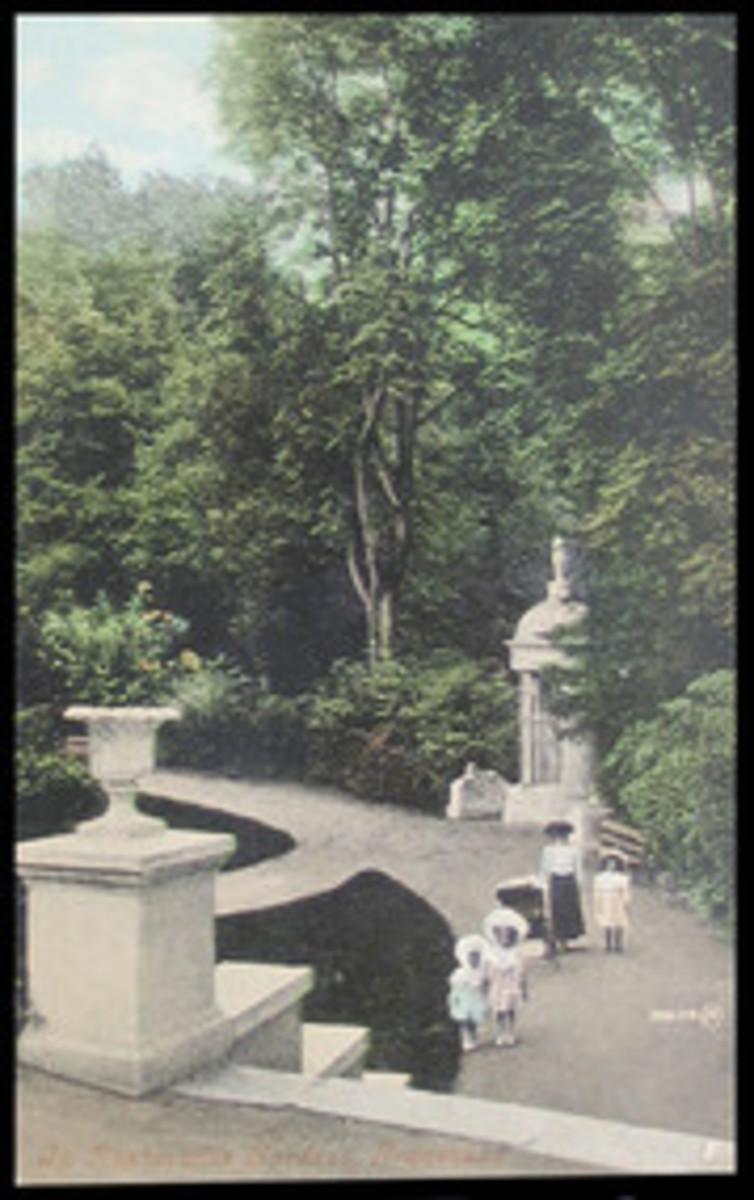 Rosherville Garden pathways
