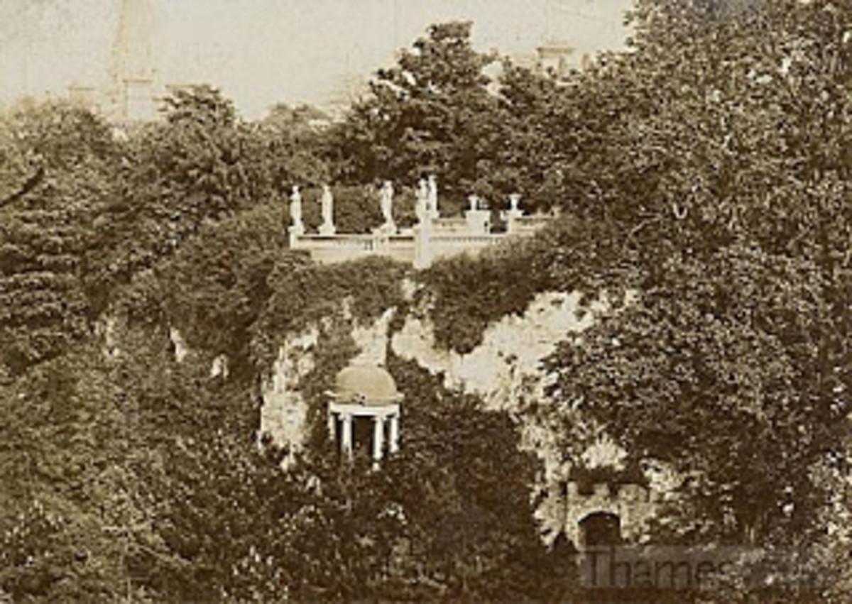 Rosherville Gardens clifftop entrance