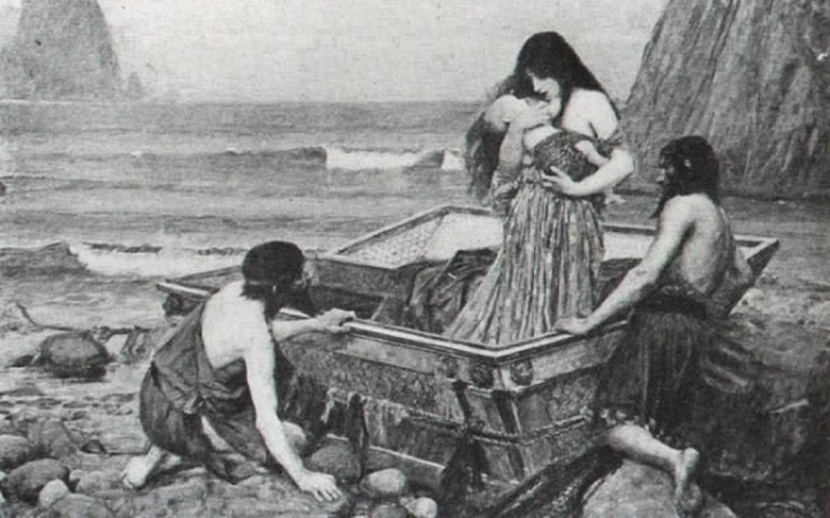 Danae by John William Waterhouse, 1892