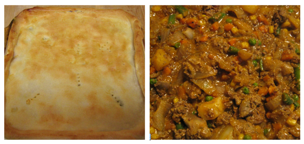Chicken Liver Recipe -- Try this great pie for dinner