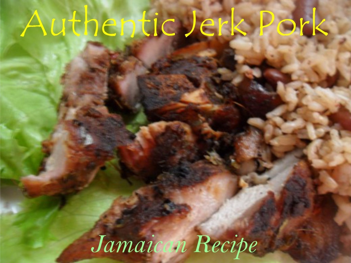 Jerk Pork Jamaican Recipe