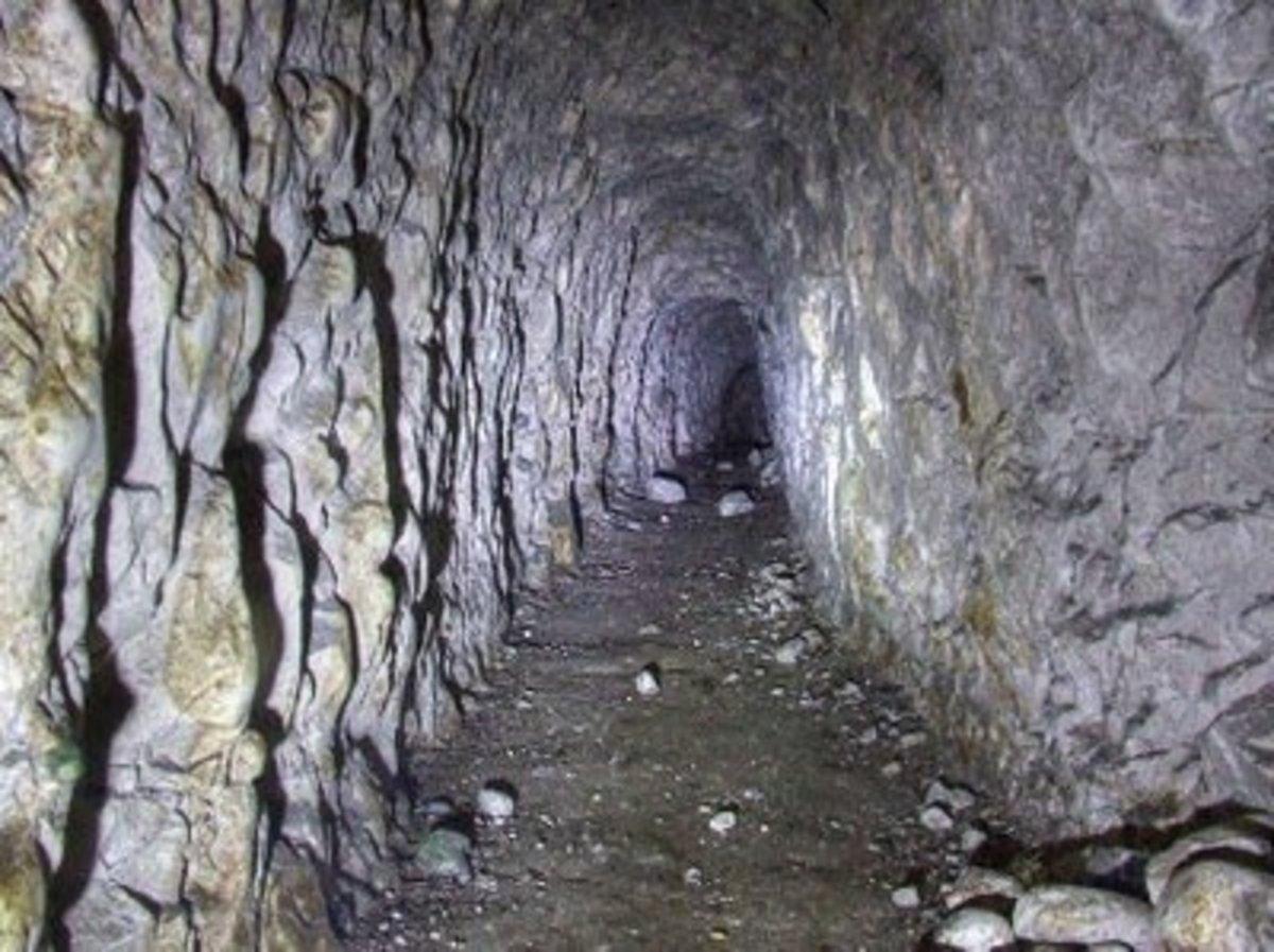 Smuggler tunnel in Kent