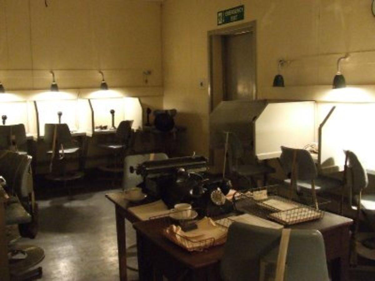 Communication centre Woodlands Park bunker