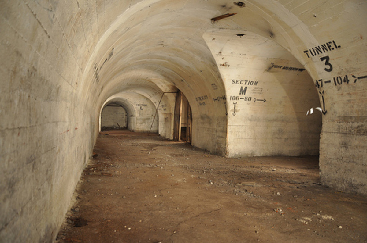 Inside the Henley tunnels