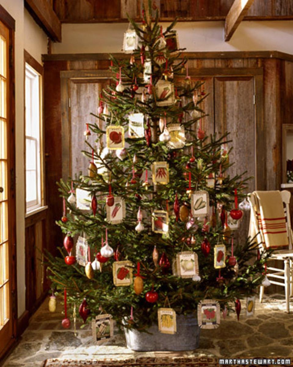 Gardening Christmas tree