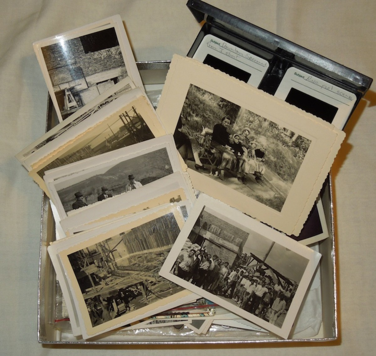 Our boxes of photos live long after we are gone, leaving our descendants to ponder over them or throw them out.