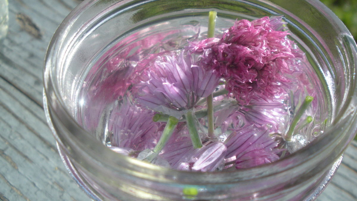 why not add flowers or petals to your jars of scented water to add interest.