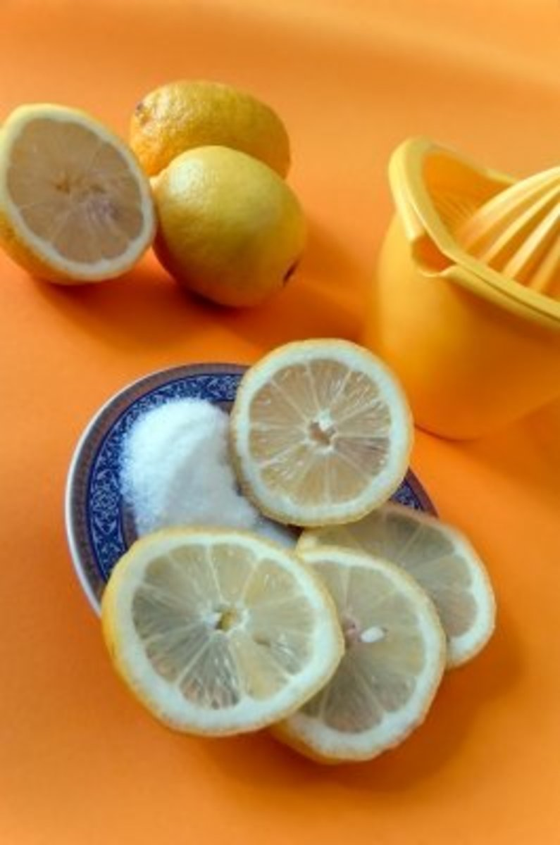 never discard any leftover lemon from cooking as the skin alone has wonderful fragrance.