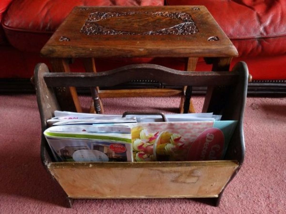 Remodelling an Old Broken Magazine Rack