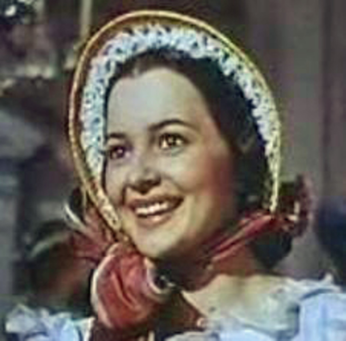 Acted by Olivia de Havilland