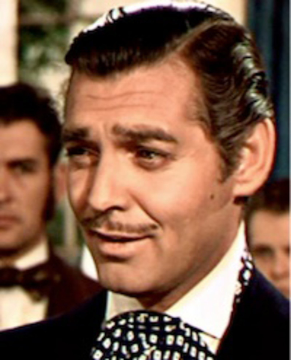 Acted by Clark Gable