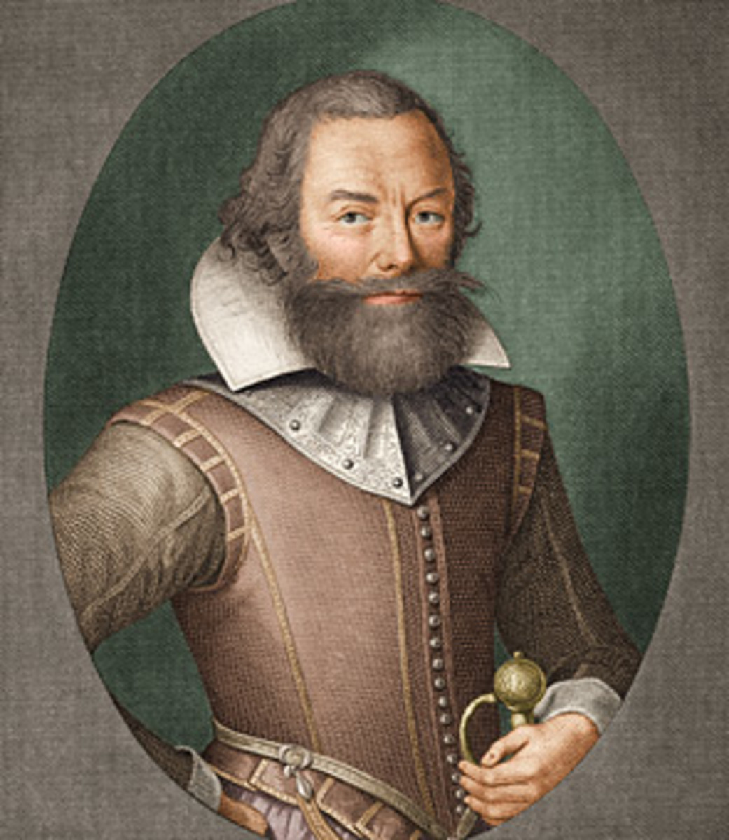 Portrait of John Rolfe