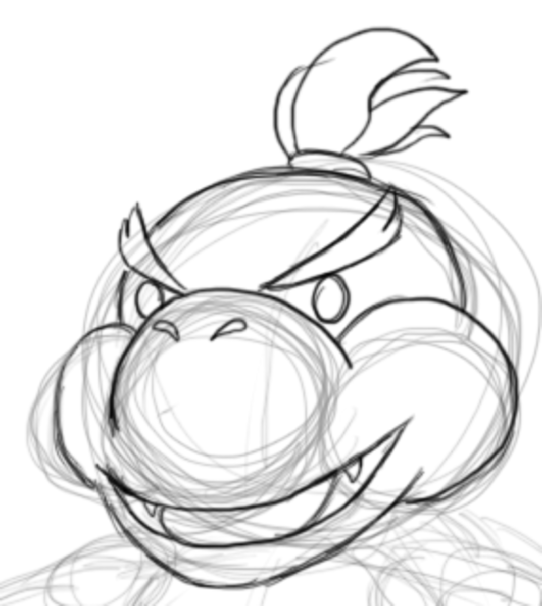 how-to-draw-bowser-jr