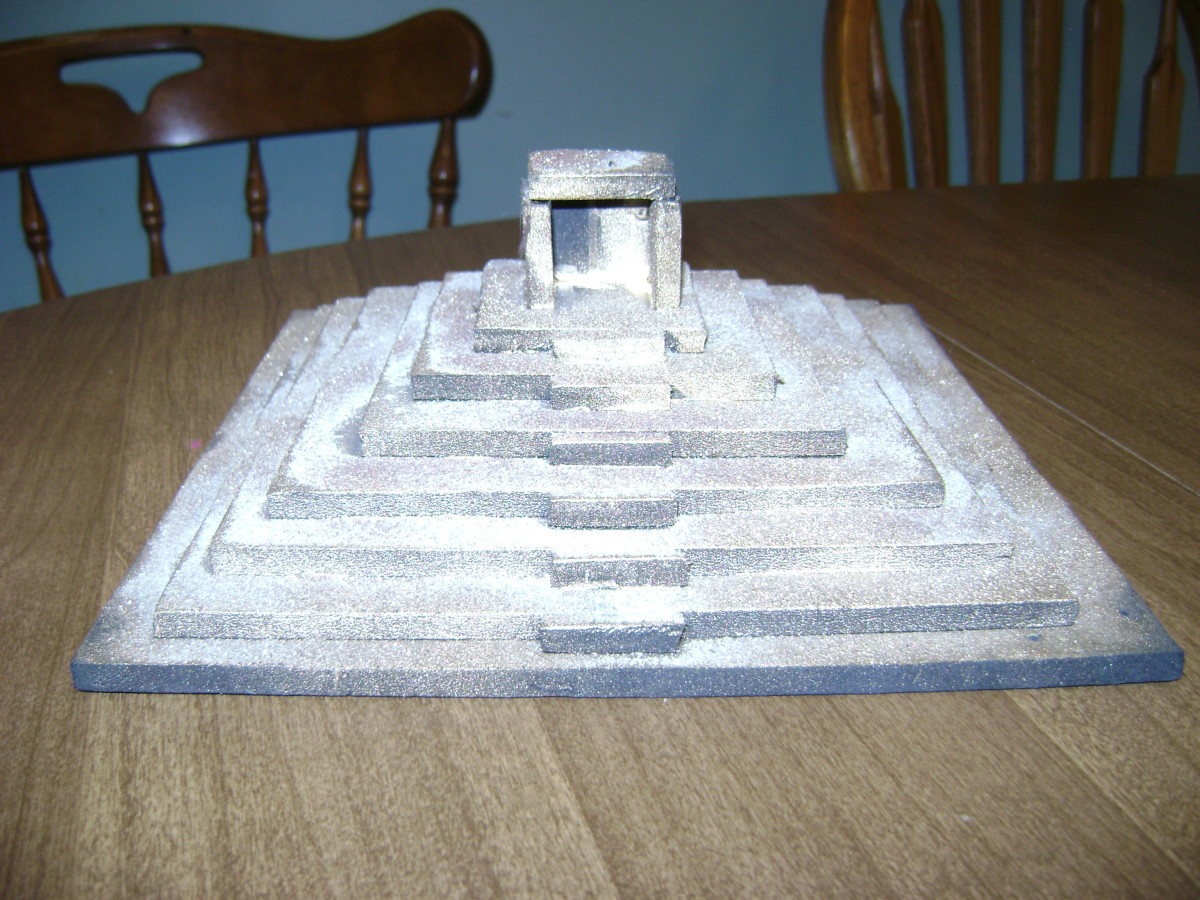 Kid's Project: Build a Ziggurat or Pyramid