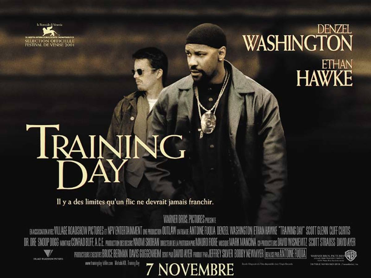 Training Day (2001) French poster