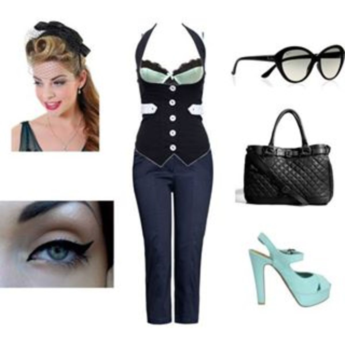 Collections of the basic Rockabilly fashion elements