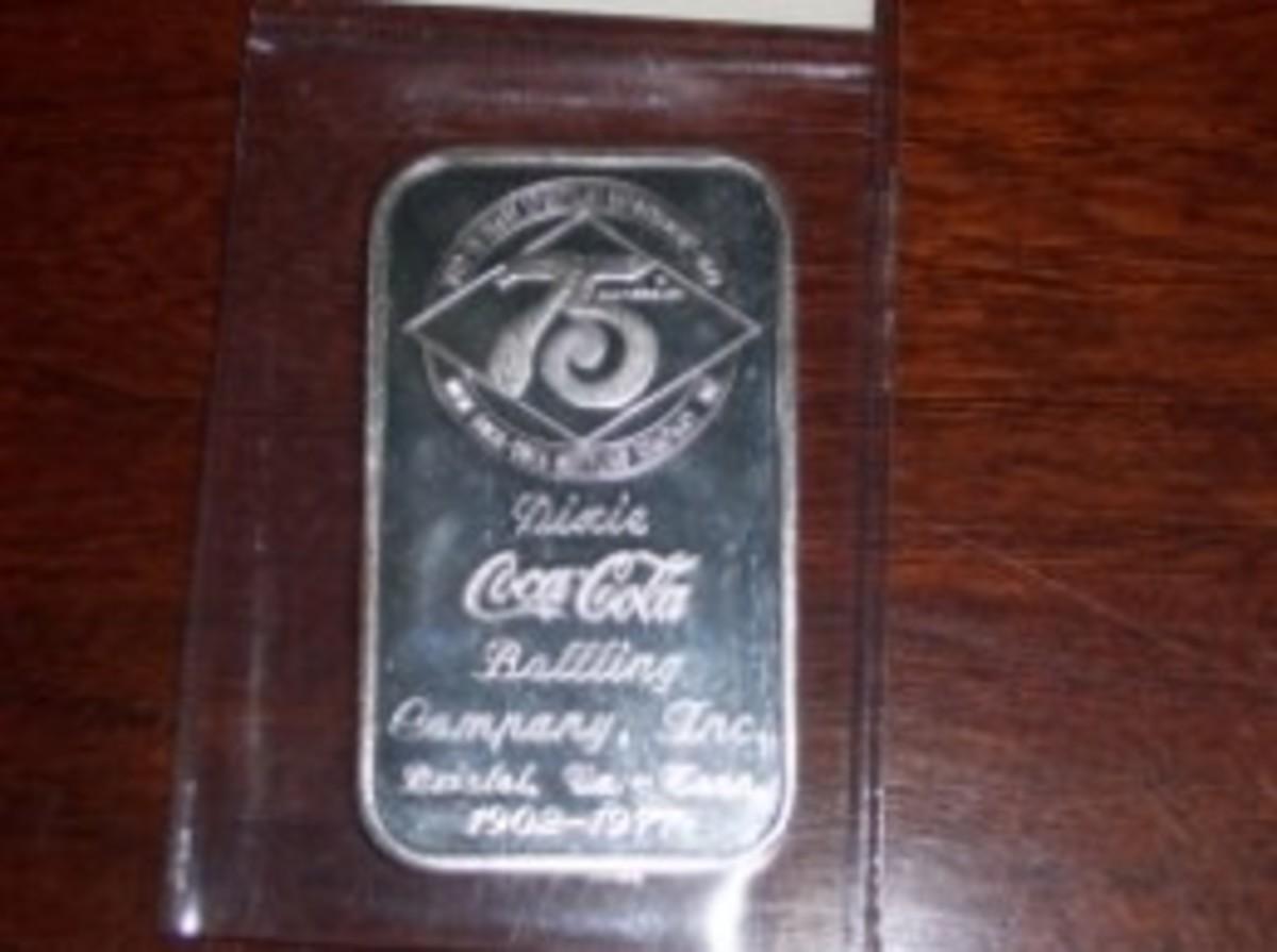 Coca-Cola Silver Bars