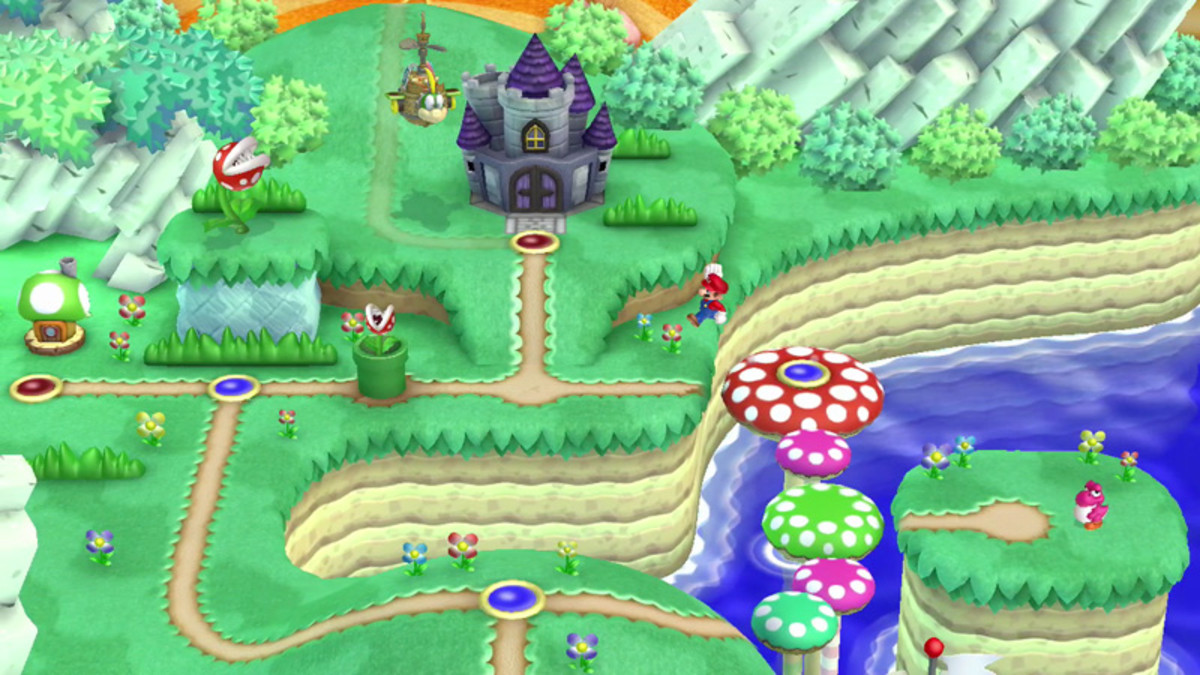 How to find the Star Coins of Acorn Plains in New Super Mario Bros. U