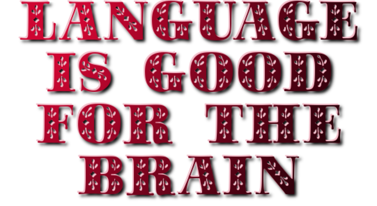 Language is Good for the Brain