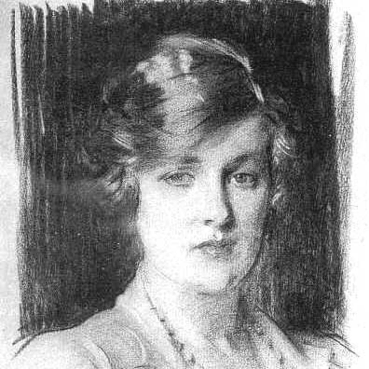 Cynthia - grandmother of Diana Spencer.Do you think she looks like Diana?