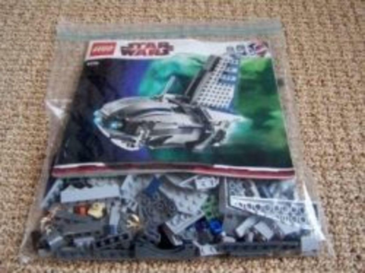 Lego Bag Storage