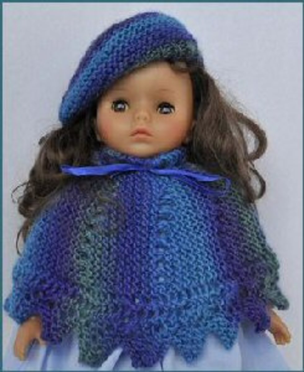 Free Knitting Patterns For Doll Clothes 18 Ins : American Girl Dolls and 18 Inch Dolls Free Knitting Patterns