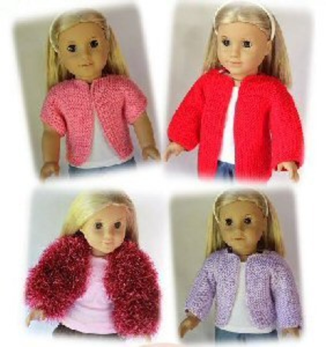Love My Doll Sweater Knitting Pattern