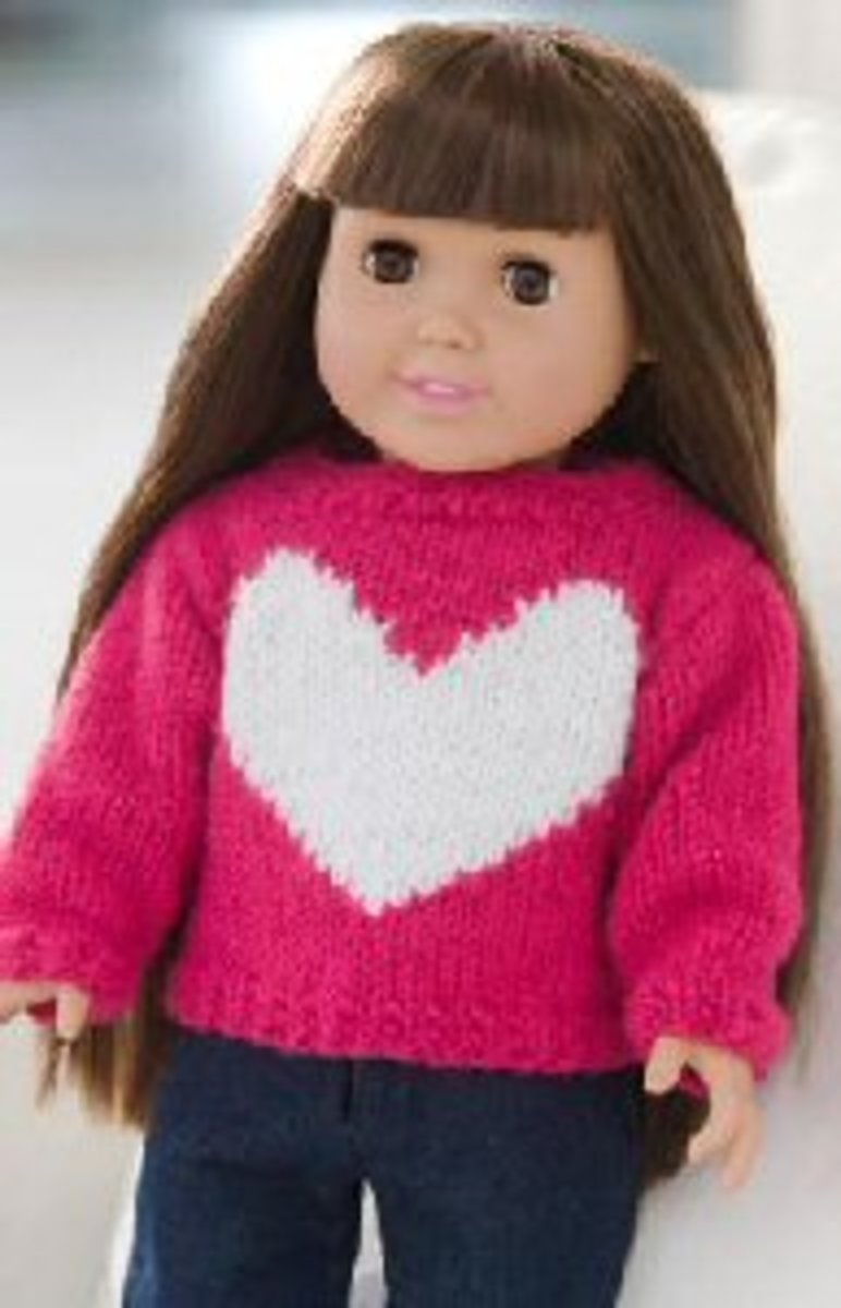 Free Knitting Patterns For American Dolls : American Girl Dolls and 18 Inch Dolls Free Knitting Patterns