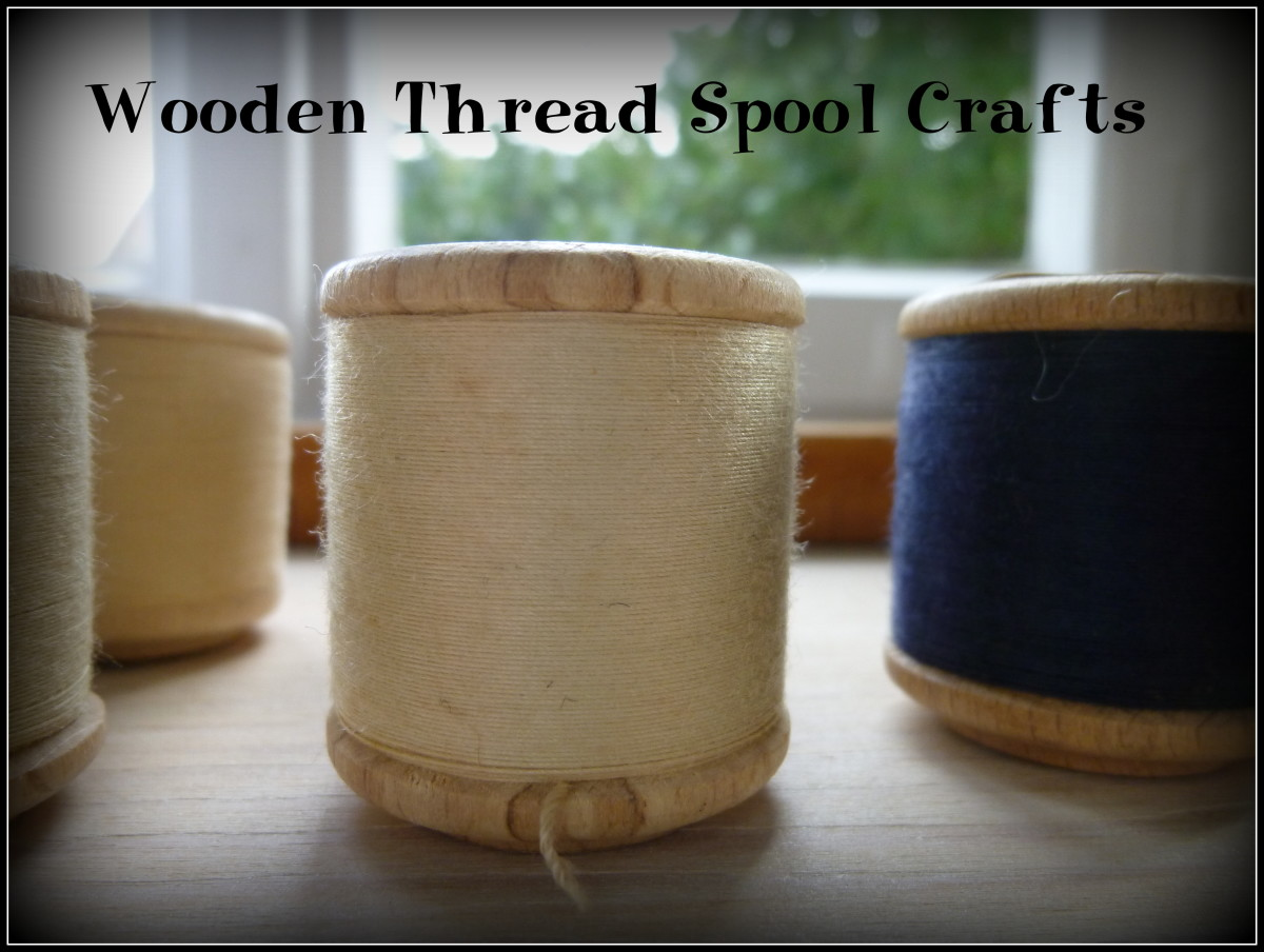 Wooden Thread Spool Crafts