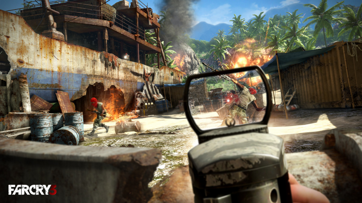 Far Cry 3 Tactica - Best Aggressive Skill Build