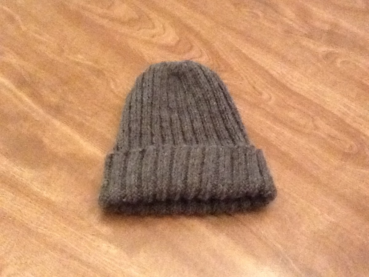 How To Knit A Men S Hat Free And Easy Pattern Hubpages
