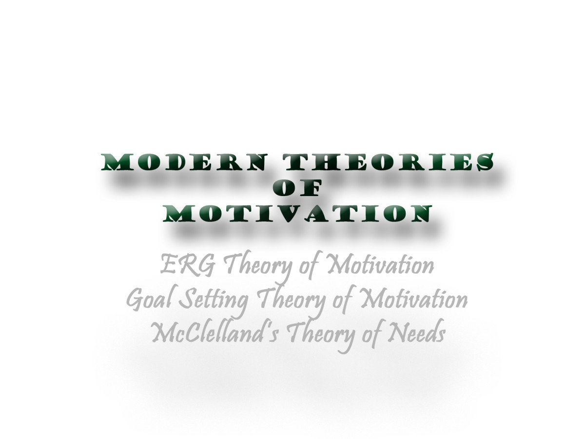 the classical and modern theories of motivation The classical management approach does not work in all business environments however, if it is implemented in the right type of environment, there can be many advantages to the theory once such advantage is the placement of an organizational hierarchy that is made up of three levels.