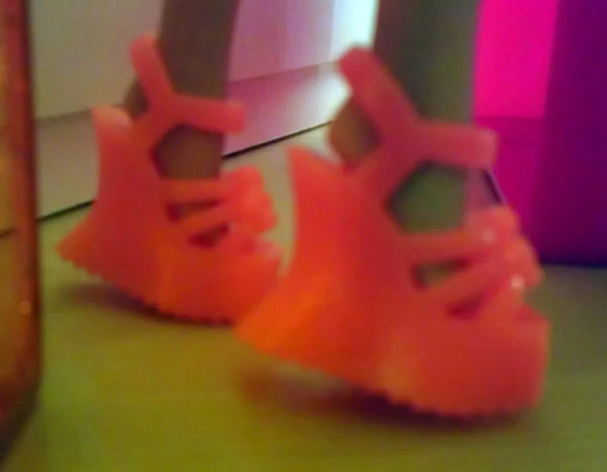 Barbie's tacky orange platform shoes will make you cringe.