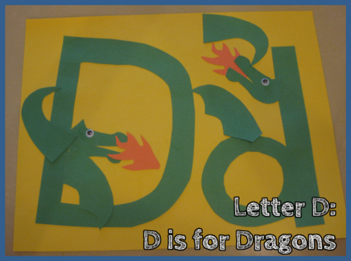 Letter D Alphabet Activities D is for Dragons