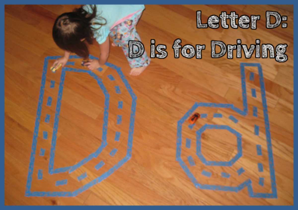 Letter D Alphabet Activities D is for Driving