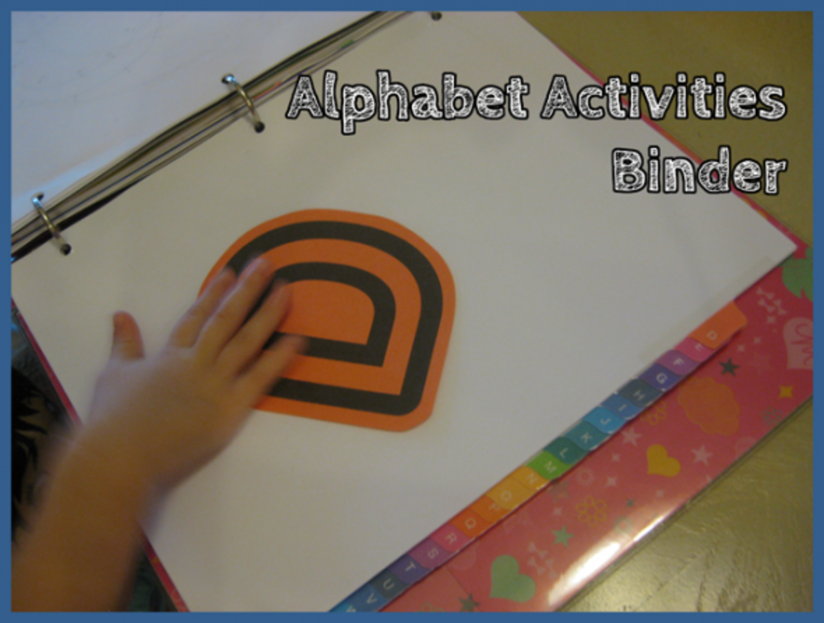 Alphabet Activities Binder Letter D