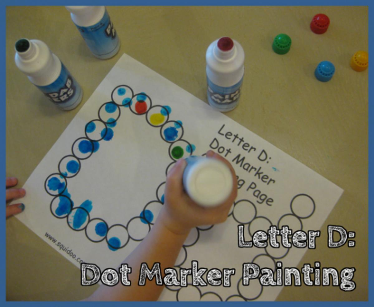 Letter D: Alphabet Activities For Kids