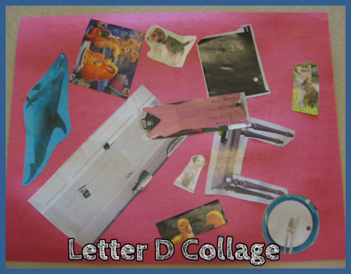 Letter D Alphabet Activities Collage
