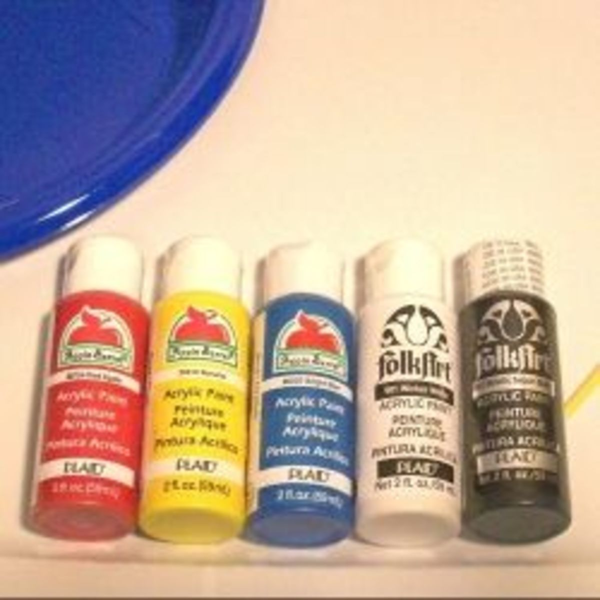 Acrylic Craft Paint and Infinate Possibilities for Decorating, Arts and Crafts