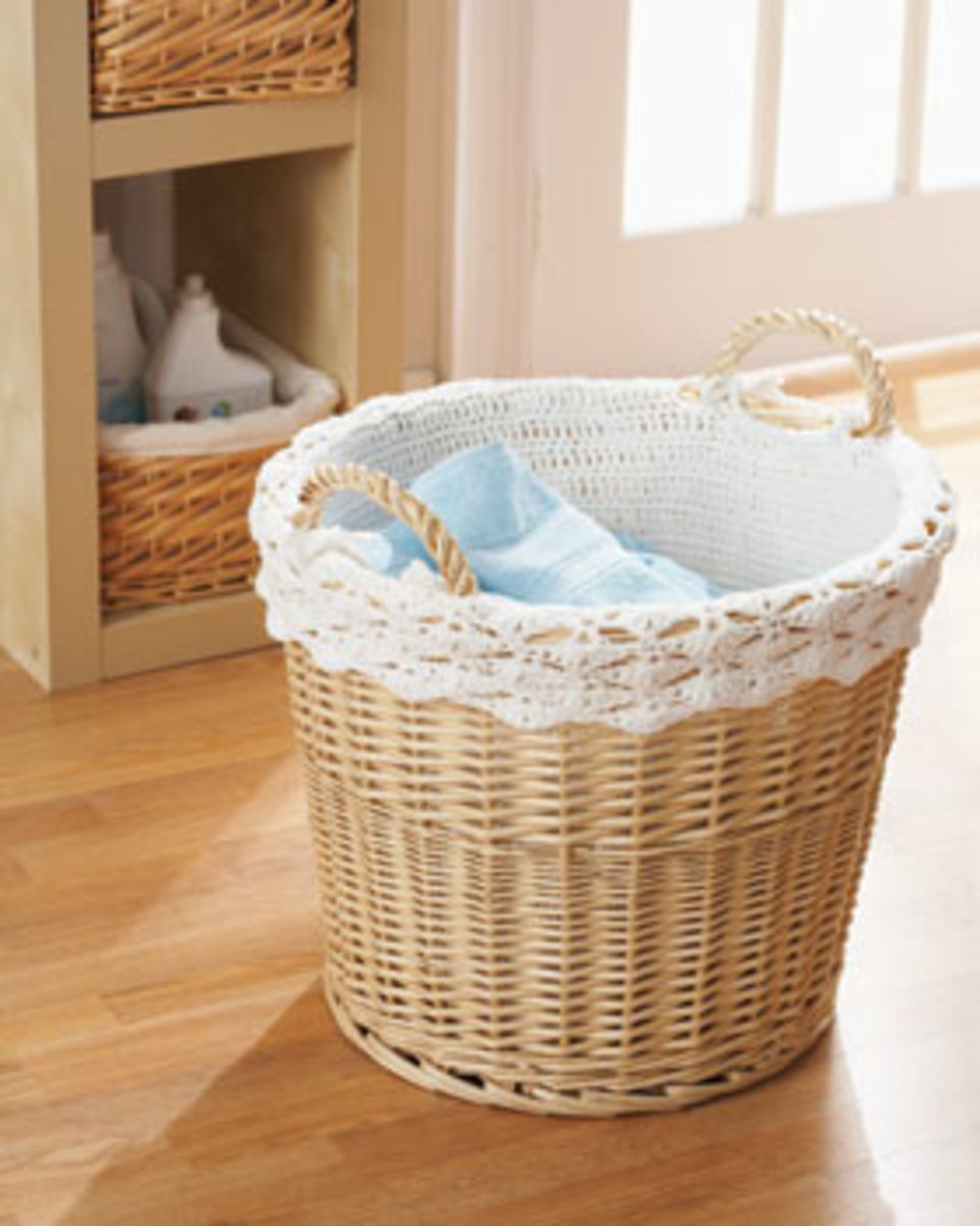 Handicrafter Cotton - Basket Lining...Pattern available for free download