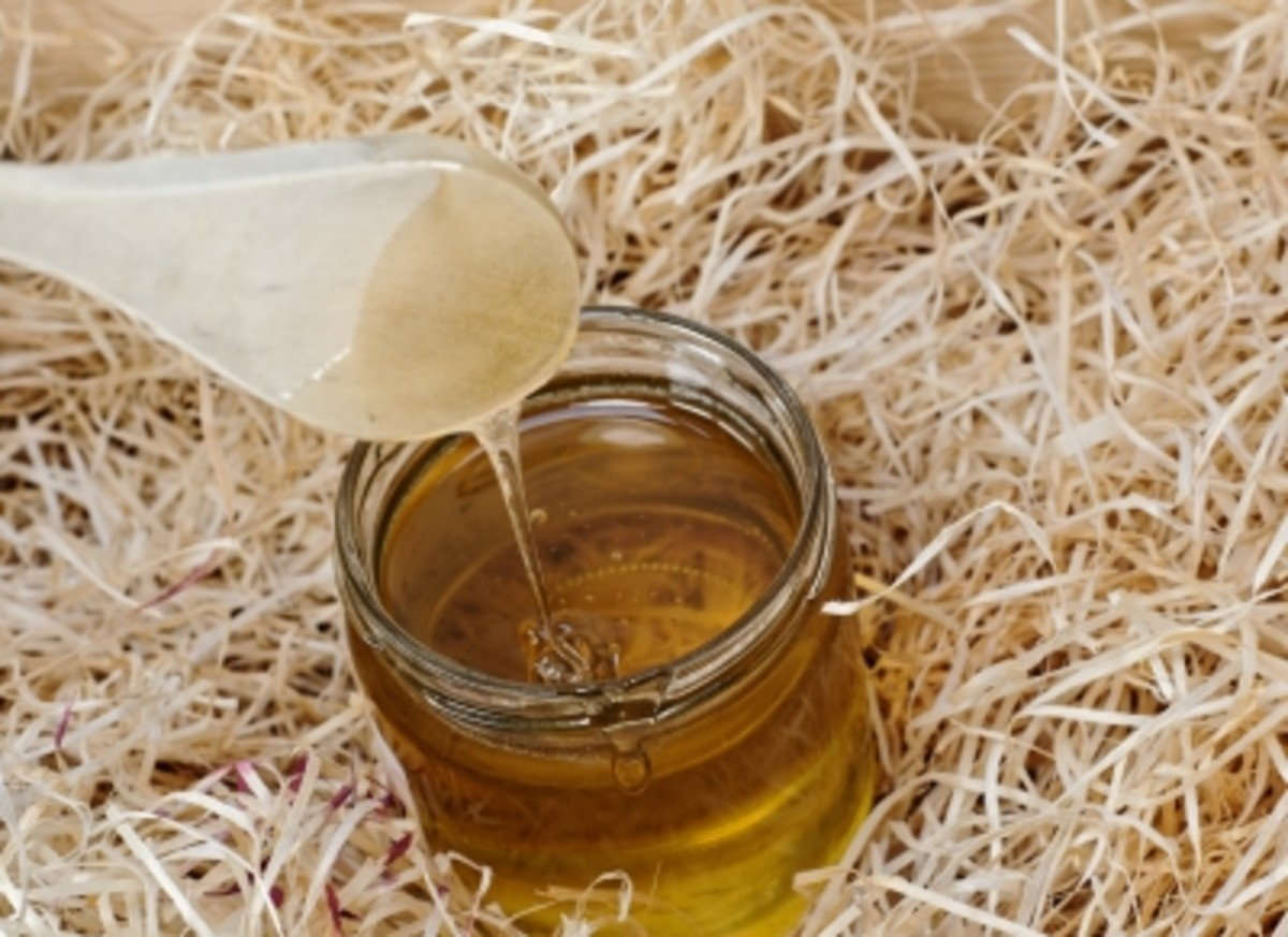 honey is a wonderful skin product and perfect in a  lip scrub recipe. always use organic if possible.