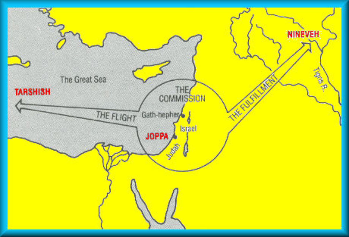 Jonah's Travel Map