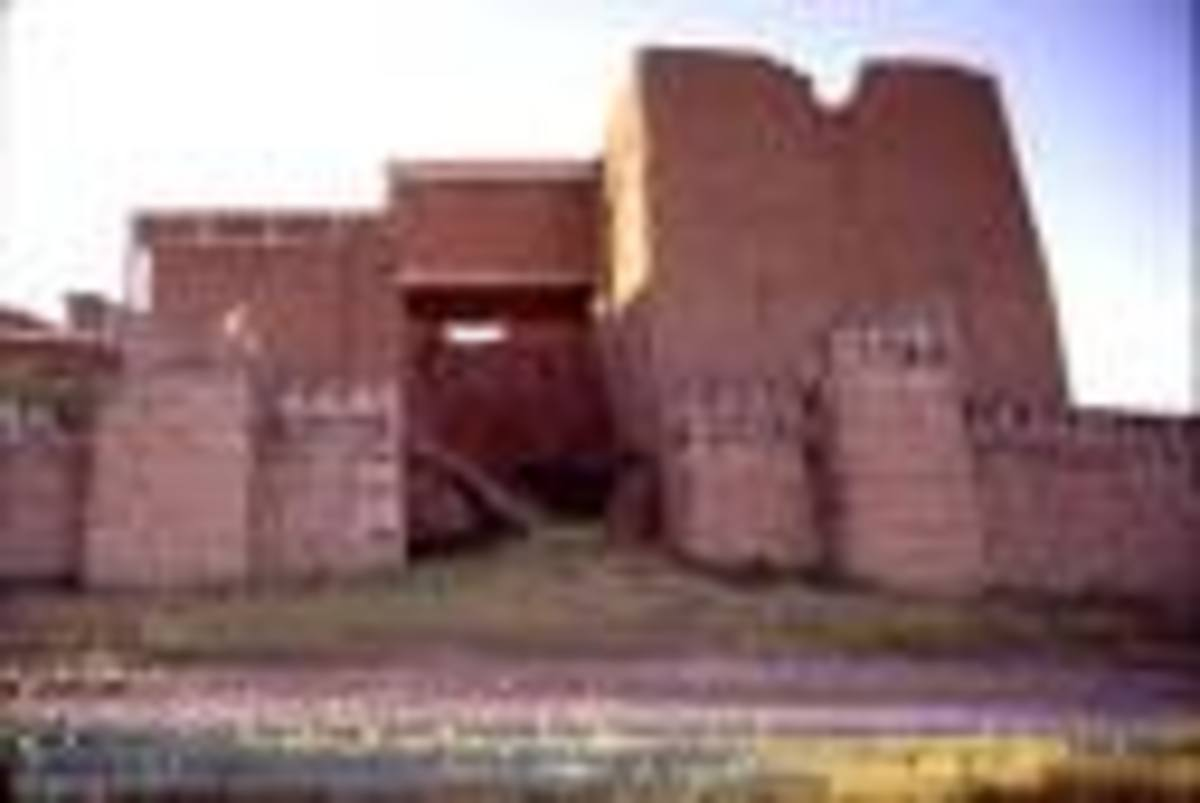 Another view of a gate in to Nineveh