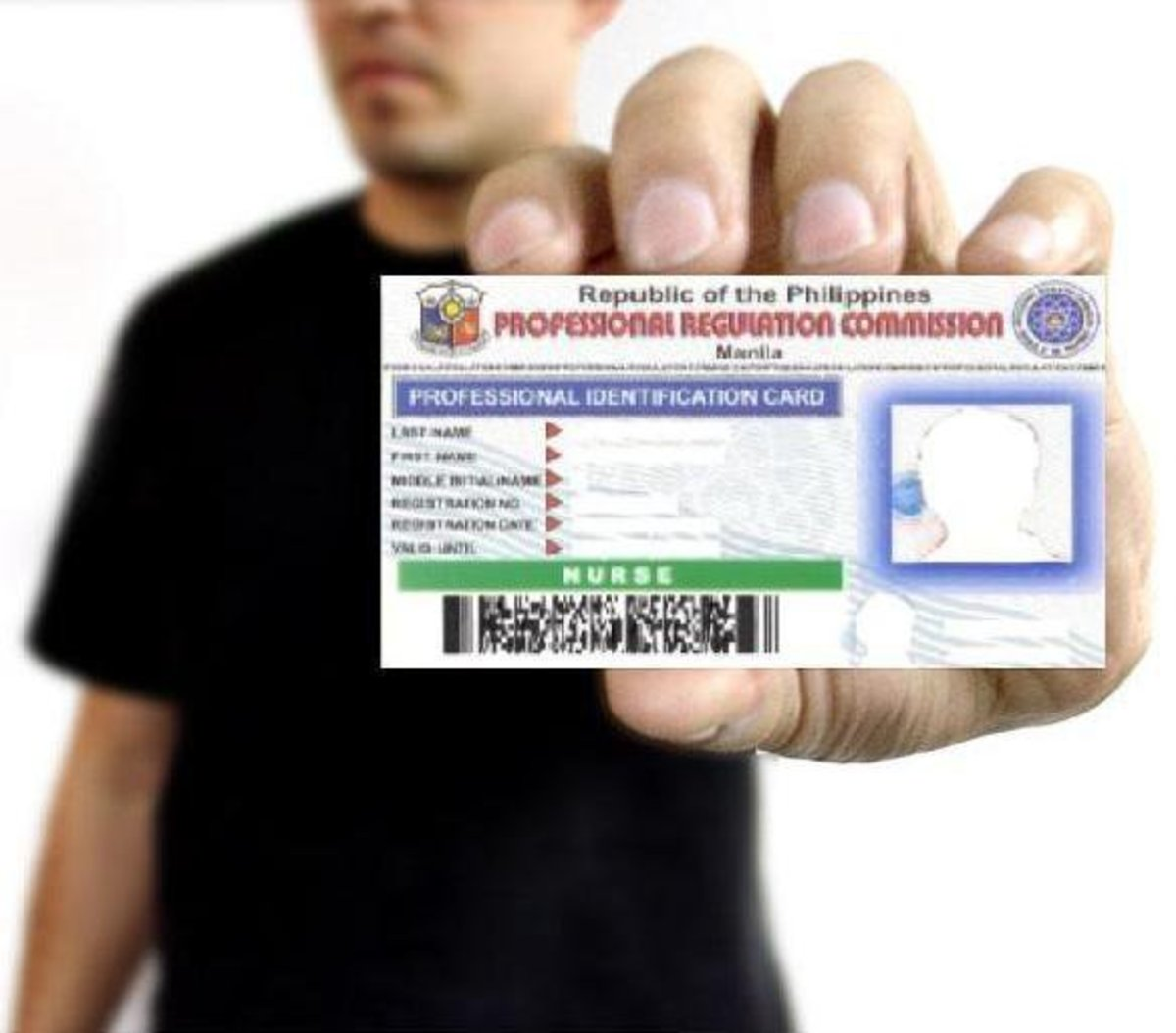 Payment for renewal of expired PRC ID