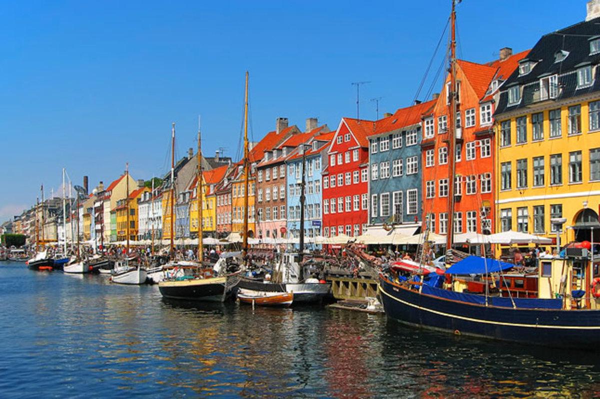 """""""Nyhavn"""" in Copenhagen"""