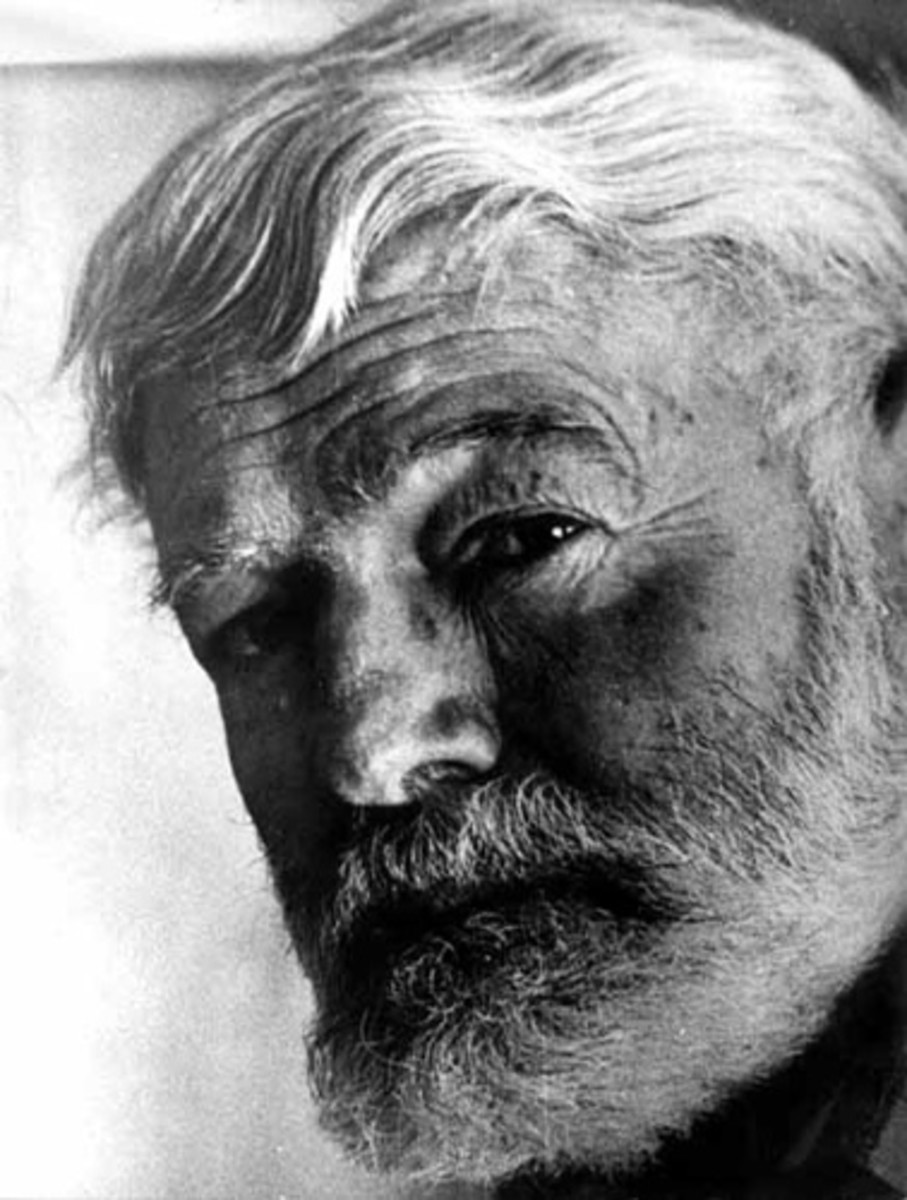 Ernest Hemingway is one of the most famous writers of modernism in literature.