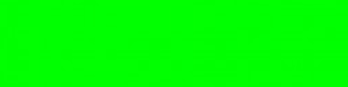 100% INTENSITY 0% (R) : 100% (G) : 0% (B) - This is pure LIGHT GREEN (ie: 100% intensity green light with no red or blue contribution)