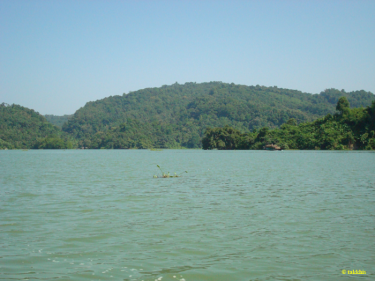 kaptai-lake